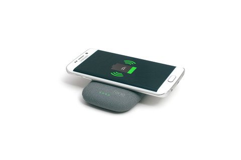 qistone qi portable wireless charger for samsung s6 other compatible phones ebay. Black Bedroom Furniture Sets. Home Design Ideas