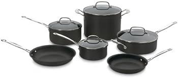 10-Pc. Cuisinart W64-10SL Cookware Set