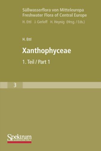 Sußwasserflora von Mitteleuropa, Bd. 03: Xanthophyceae  [Ettl, Hanus] (Tapa Blanda)