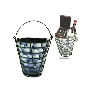 Golf Range Bucket Gift Basket
