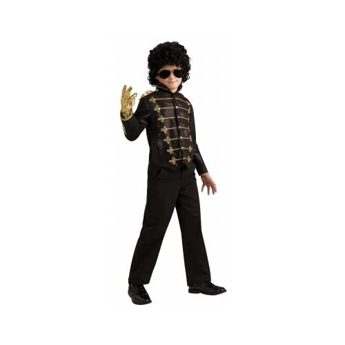 Michael Jackson Deluxe Black Military Jacket Child