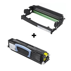 Value Bundle Toner Cartridge & Drum Unit: Package Contains And Price Includes (1) Compatible Brand Toner Cartridge And (1) Compatible Brand Drum Unit That Replaces The Dell 310-8707 Toner And Dell 310-8710 Drum Unit For Dell 1720, 1720N, 1720Dn And 1720Td
