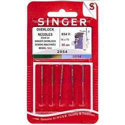 Singer Serger Ball Point Needles - Size 10 & 14 (Sergers Singer compare prices)