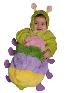 Baby Caterpillar Bunting Infant Halloween Costume Size 6-12m