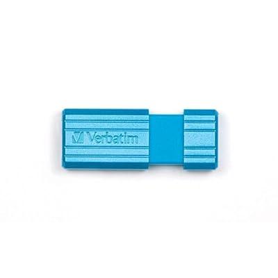 "Hi-Speed Store'N'Go 16 GB,""Pin Stripe, Caribbean Blue"