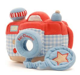 Say Cheese! Plush Camera - Blue - Buy Say Cheese! Plush Camera - Blue - Purchase Say Cheese! Plush Camera - Blue (Toys & Games, Categories, Stuffed Animals & Toys, Animals)