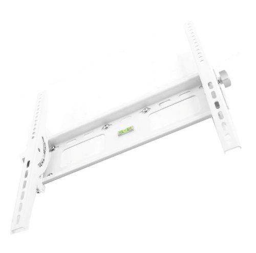 VESA LCD Wandhalterung Wandhalter TV Halterung Halter weiß neigbar für Philips 40PFL5605K/02 40PFL5806K/02 40PFL8605K/02 40PFL9705K/02 40PFL7605H/12 40PFL8664H/12 40PFL8505K/02 40PFL5605H/12