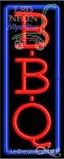 Bbq Neon Sign 13 Inch Tall X 32 Inch Wide X 3.5 Inch Deep Inch Deep Outdoor O...