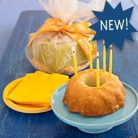 Dancing Deer Lemon Pound Cake Birthday Party Kit