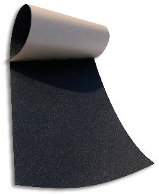 Union Black Skateboard Griptape Sheet 9 x 33""