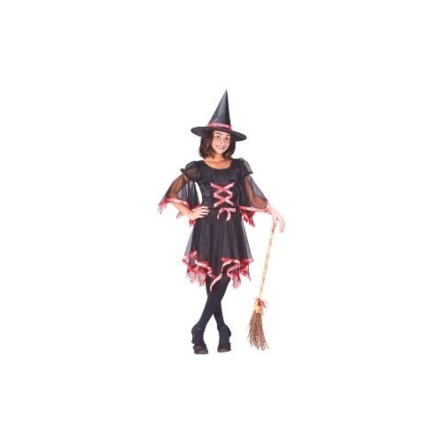 Ribbon Witch Child Costume Size 4-6 Small