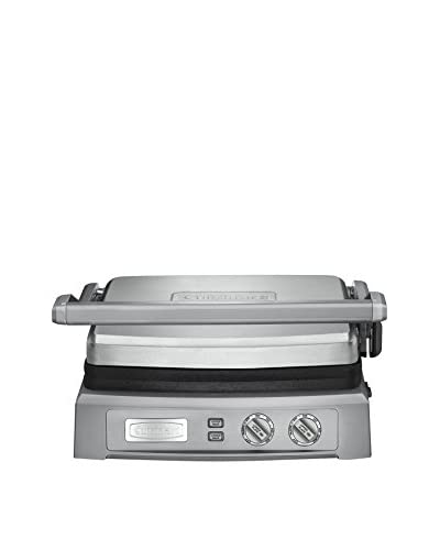 Cuisinart Griddler Deluxe, Brushed Stainless Steel