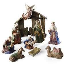 Royal Doulton 11 Piece Nativity Set
