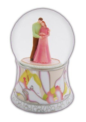 Expectant Parents Water Globe