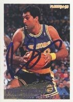 Rony Seikaly Golden State Warriors 1994 Fleer Autographed Hand Signed Trading Card. by Hall of Fame Memorabilia