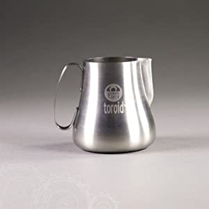 Espro Toroid 20 Oz Stainless Steel Milk Frothing Pitcher by Espro