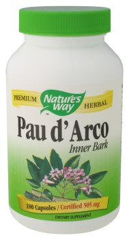 Nature's Way - Pau D'Arco Inner Bark 545 mg