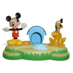 Talkin' Bobbin' Figures 2-Pack: Pluto's Doghouse with Pluto & Mickey - Buy Talkin' Bobbin' Figures 2-Pack: Pluto's Doghouse with Pluto & Mickey - Purchase Talkin' Bobbin' Figures 2-Pack: Pluto's Doghouse with Pluto & Mickey (Toy Island, Toys & Games,Categories)