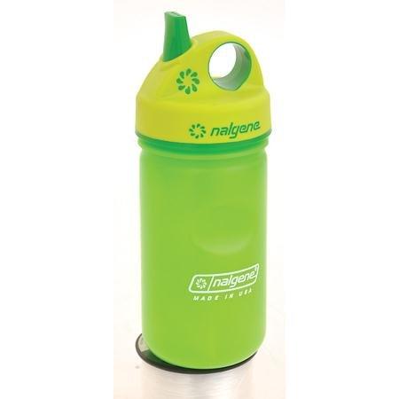 Nalgene Hdpe Grip-N-Gulp Water Bottle (Slime Green), 12 Ounces