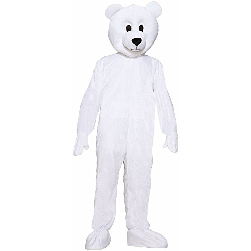 Norm the Nordic Bear Mascot Adult Costume - Standard