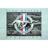 FORD MUSTANG 1964-1999 BLECHSCHILD NEU STABIL VS1991