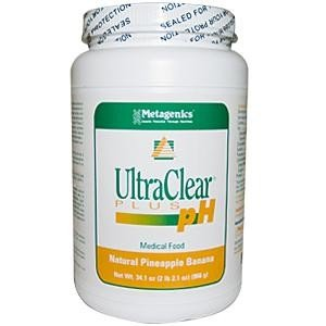 Metagenics Ultraclear Plus Natural Pineapple Banana Flavor 34.5 Oz (2 Lb 2.5 Oz) (966 G)