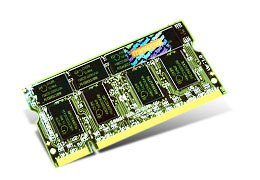 Transcend ノートPC用増設メモリ DDR333 1GB 永久保証 TS128MSD64V3A