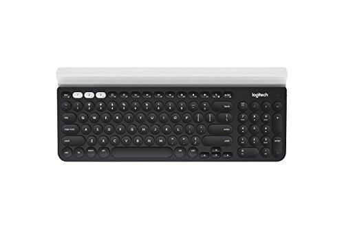 Logitech K780 Multi-Device Wireless Keyboard for Computer, Phone & Tablet, Speckles (920-008025)