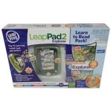 LeapFrog LeapPad 2 Explorer Tablet Learn-to-Read Bundle