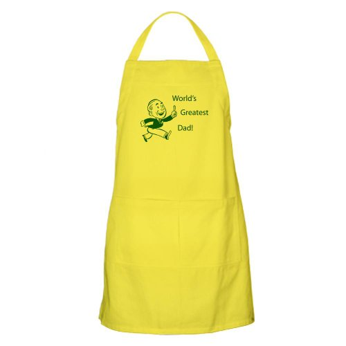 Cafepress World'S Greatest Dad BBQ Apron - Standard