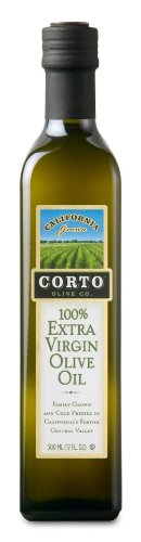 Corto Extra Virgin Olive Oil From California, Glass Bottle (Pack of 2) (500 ML) by Corto