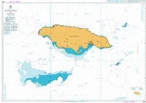 BA Chart 3936: Approaches to Jamaica люстра подвесная lightstar 807087