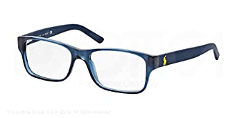 Amazon.com: Polo PH2117 Eyeglasses-5470 Navy Blue-54mm ...