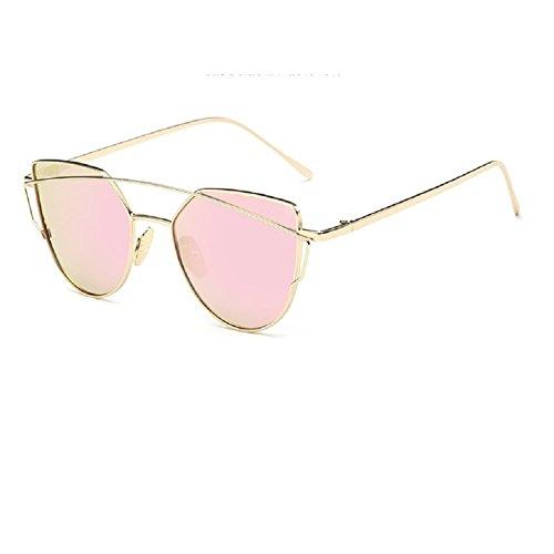 0-c-unisex-tendencia-de-moda-metal-frame-gafas-de-sol-polarizadas-53-mm-rosa-gold-frame-pink-lens