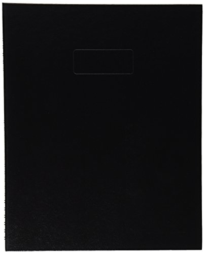 Blueline NotePro Notebook, Black, 11 x 8.5 Inches, 150 Pages (A10150.BLK)