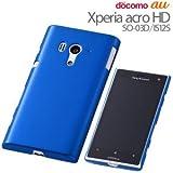 レイ・アウト Xperia acro HD docomo SO-03D/au IS12S用ハードコーティングシェル/オーシャンブルーRT-SO03DC3/N