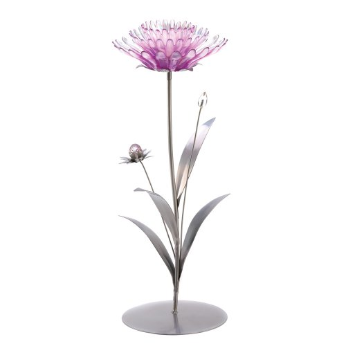 Gifts & Decor Pink Lotus Flower Tealight Candle Holder Centerpiece