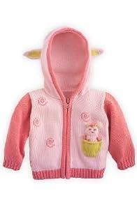 Joobles Organic Baby Cardigan Sweater - Cutie the Lamb