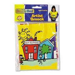 * Kraft Artist Smock, Fits Kids Ages 3-8, Vinyl, Bright Colors