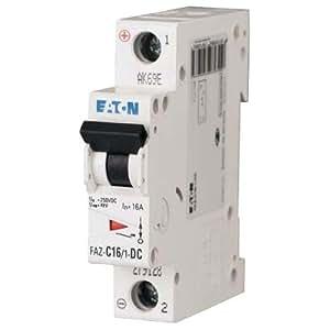 Amazon.com: Eaton / Cutler Hammer FAZ-C10/1-NA-SP Miniature Circuit