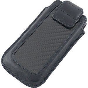 Great Sale ION Factory CarbonJacket for iPhone 5 - Black