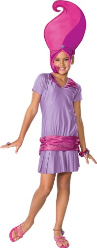 Girls Amethyst Trollz Costume - 1