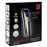 Moser 1584 Li+pro Mini Professional Hair Clipper Corded/cordless Haircut Machine Beard Trimmer Dual Voltage 100-240v, 50-60hz NEW (Color: Silver)