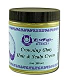 Wise Ways Herbals Crowning Glory Hair & Scalp Cream 4 Oz