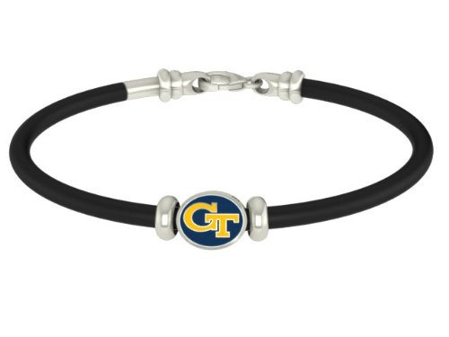 Georgia Tech Yellow Jackets Rubber Bracelet