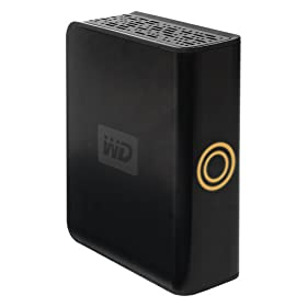 Western Digital My DVR Expander 1 TB eSATA Desktop External Hard Drive WDG1S10000VN (Black)