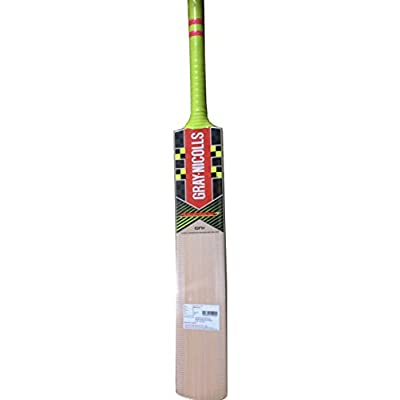 Gray-Nicolls Powerbow GN+ English Willow Cricket Bat, Full Size SH