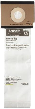 Electrolux EUR 63262-10 Bag For SC9180 Duralux 2 Motor Upright Vacuum Cleaner 5-Pack (Case of 10)