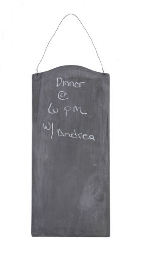 Creative Co-Op Metal Hanging Chalkboard - 1