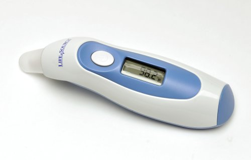 Lifesource Ut-302 Instant-Read Digital Ear Thermometer